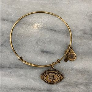 Alex and Ani San Francisco 49er bangle